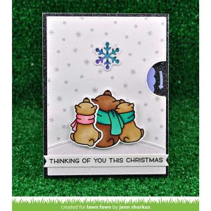 Lawn Fawn Reveal Wheel Snowflake Add-on Lawn Cuts class=