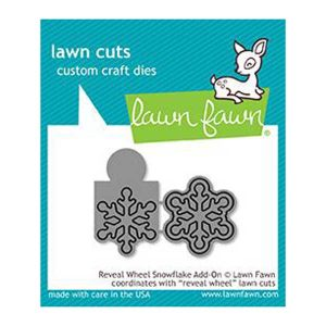 Lawn Fawn Reveal Wheel Snowflake Add-on Lawn Cuts