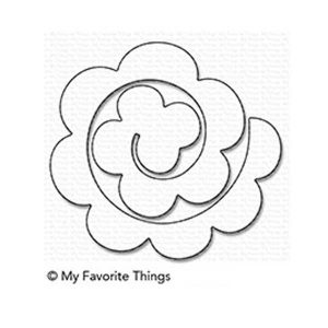 My Favorite Things Rolled Rose Die-namic