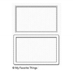 My Favorite Things Large Rectangle Shaker Window & Frame