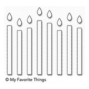 My Favoirte Things Happy Birthday Candles Die-namics