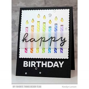 My Favoirte Things Happy Birthday Candles Die-namics class=