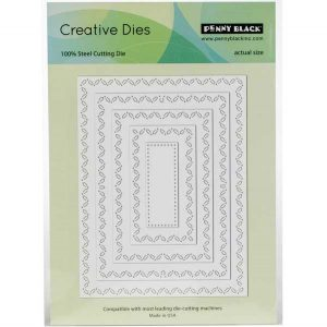 Penny Black Stitched Stackers Die Set class=