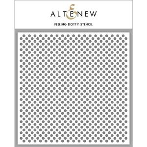 Altenew Feeling Dotty Stencil