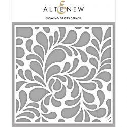 Altenew Flowing Drops Stencil