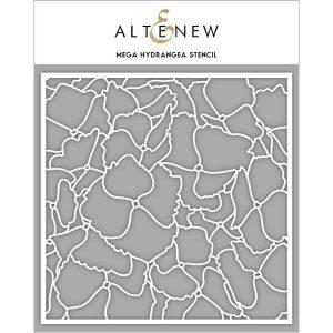 Altenew Mega Hyrdrangea Stencil