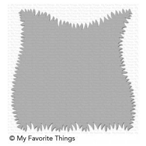 My Favorite Things Grassy Edges Stencil