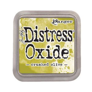Tim Holtz Distress Oxide Ink Pad – Crushed Olive class=