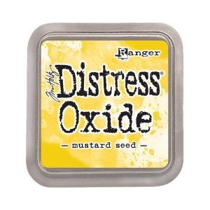 Tim Holtz Distress Oxide Ink Pad – Mustard Seed