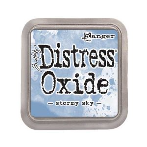 Tim Holtz Distress Oxide Ink Pad – Stormy Sky class=