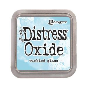 Tim Holtz Distress Oxide Ink Pad – Tumbled Glass class=