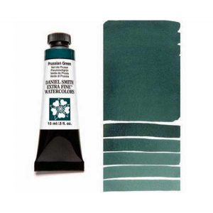 Daniel Smith 15ml Extra Fine Watercolor – Prussian Green