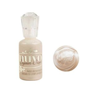 Nuvo Crystal Drops Metallic - Caramel Cream