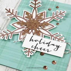 Concord & 9th Snow Flurry Stamp Set