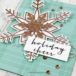 Concord & 9th Snow Flurry Stamp Set class=