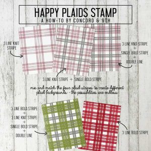Concord & 9th Happy Plaids Stamp Set class=