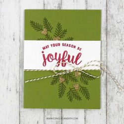 Concord & 9th Merry & Bright Stamp Set