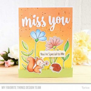 My Favorite Things Woodland Friends Stamp Set class=