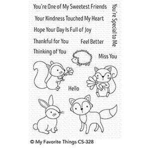 My Favorite Things Woodland Friends Stamp Set