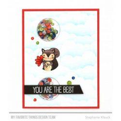 My Favorite Things Birdie Brown Greetings Galore Stamp