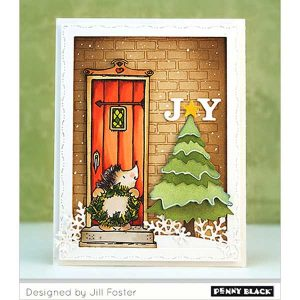 Penny Black Autumn Entrance Clear Stamp class=