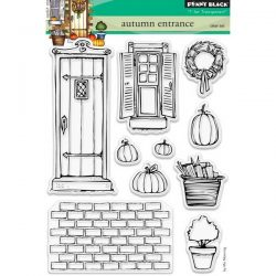 Penny Black Autumn Entrance Clear Stamp