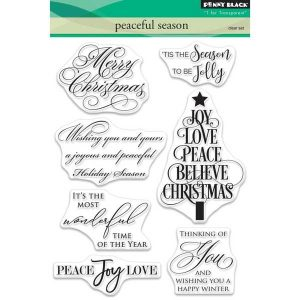 Penny Black Peaceful Season Stamp Set