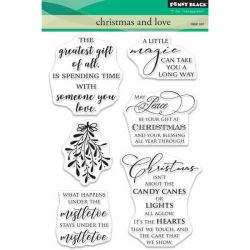 Penny Black Christmas and Love Stamp Set