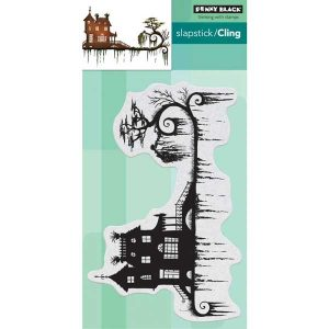 Penny Black Dark Night Cling Stamp class=