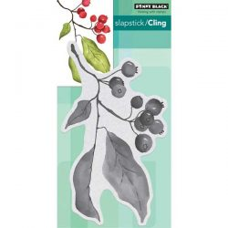 Penny Black Christmas Berries Cling Stamp
