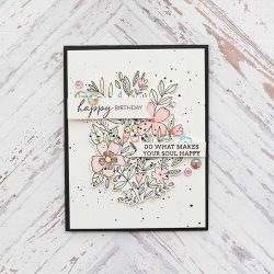 Pinkfresh Studio Fleur 1 Stamp Set