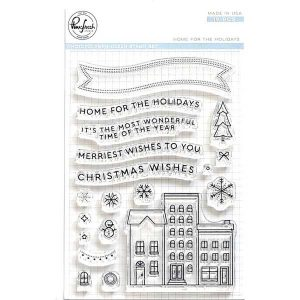 Pinkfresh Studio Home for the Holidays Stamp Set