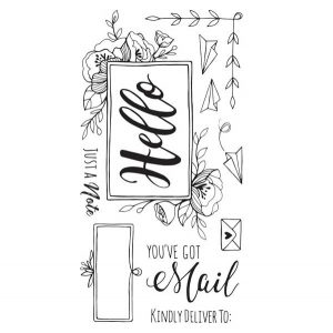 Sizzix You've Got Mail Stamp Set