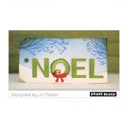 Penny Black Wreath Noel Die