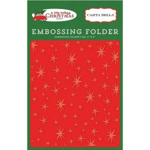 Carta Bella Christmas Magic Embossing Folder
