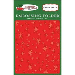 Carta Bella Christmas Magic Embossing Folder