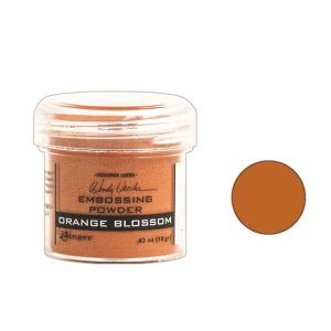Wendy Vecchi Orange Blossom Embossing Powder