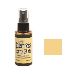 Tim Holtz Distress Spray Stain – Scattered Straw class=
