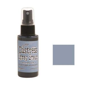 Tim Holtz Distress Spray Stain – Stormy Sky class=