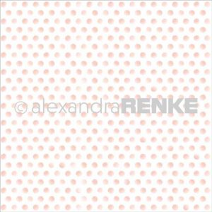 Alexandra Renke Pink Dots Cardstock  – 12″ x 12″