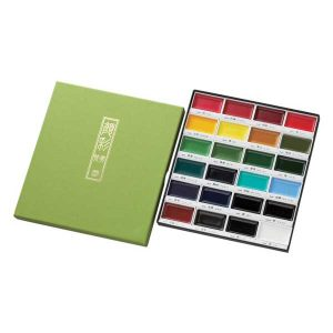 Kuretake Gansai Tambi 24 Color Set