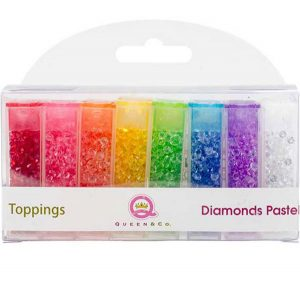 Queen & Co. Diamond Pastel Toppings Set