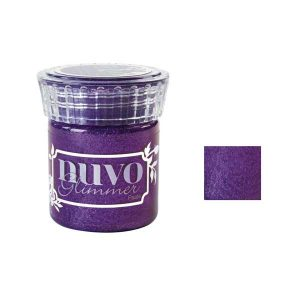 Nuvo Glimmer Paste – Amethyst Purple