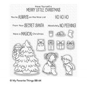 My Favorite Things BB Secret Santa Stamp Set