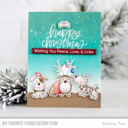 My Favorite Things Hand-Lettered Holiday Greetings