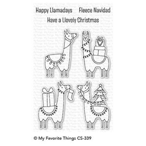 My Favorite Things Happy Llamadays Stamp Set