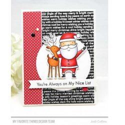 My Favorite Things Santa & Friends Die-namics