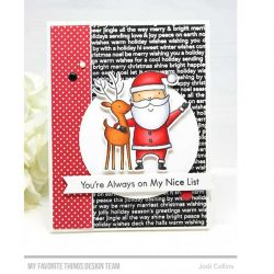 My Favorite Things Santa & Friends Stamp Set