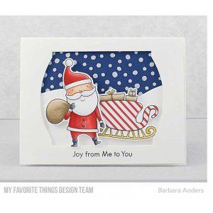 My Favorite Things Sassy Santa Die-namics class=