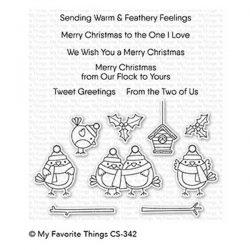 My Favorite Things Tweet Holidays Stamp Set